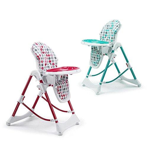 Baby vivo trona de bebe silla para ni os con bandeja para for Sillas para ninos de 3 a 6 anos