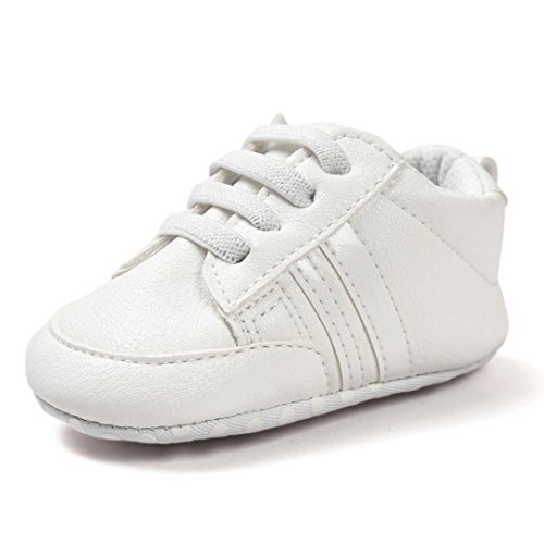 6ea68b5e Zapatos De Bebé Botines Zapatillas deportivas para bebés recién nacidos  Primeros pasos Zapato de cuero antideslizante inferior suave infantil para  niños ...
