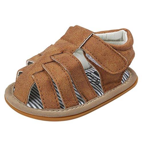 42bccbfe38 Zapatos Bebe Niño Verano Xinantime Lona Sandalias de Velcro Suela Blanda  Zapatos del Antideslizante Zapatos casuales Sneaker Para Recién Nacido Niña  Niño ...
